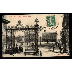 NANCY - Place Stanislas - Grille Jean L'Amour (XVIIIe Siècle)