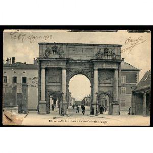 NANCY - Porte Sainte Catherine (1770)