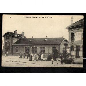 NEUVES MAISONS - Place de la Gare