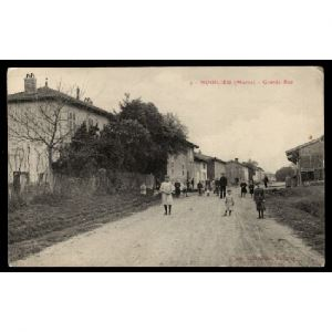 NOIRLIEU (Marne) - Grande Rue