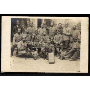 Photographie Militaire avec Armes