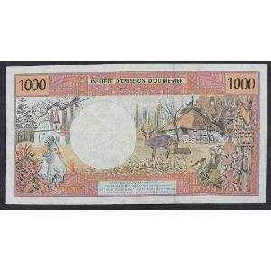 Polynésie Française, 1000 Francs ND, VG