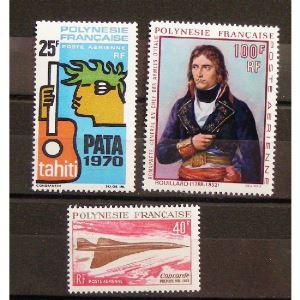 Polynésie Française, Lots, N**, Cote 193€