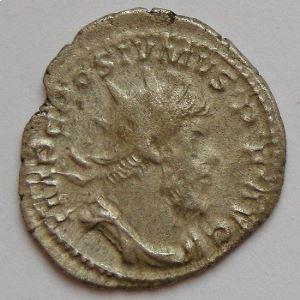 POSTUME, POSTUMUS, Antoninien, LAETITIA AVG, TB+/TTB