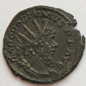 POSTUME, POSTUMUS, Antoninien, PAX AVG, TTB/TTB+