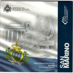 San Marino, Coffret BU 2012