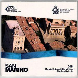 San Marino, Coffret BU 2014