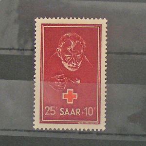 Sarre, Occupation Alliée, N° 271N** Cote 40€