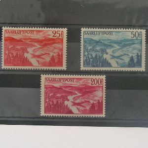 Sarre, Poste Aérienne, N° 9-10-11, N** Cote 53€