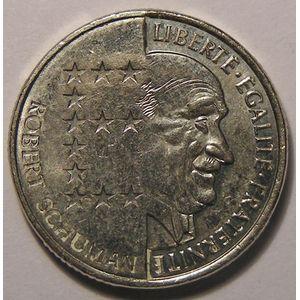 Schuman , 10 Francs 1986 SUP, Gad: 825