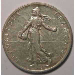 Semeuse, 2 francs 1913, TTB, Gadoury: 532