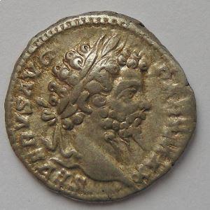Septime Sévère, Septimius Severus, denier, R/ ANNONAE AVGG, TB+/TTB