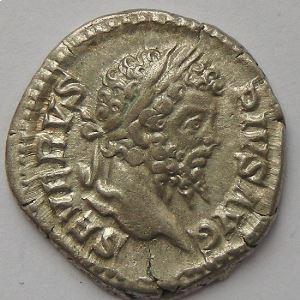 Septime Sévère, Septimius Severus, denier, R/ INDVLGENTIA AVGG IN CARTH, TTB