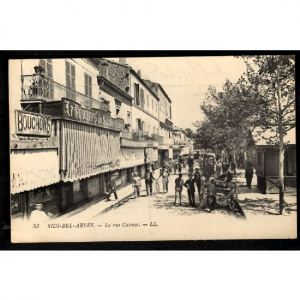 SIDI BEL ABBES - La Rue Catinat