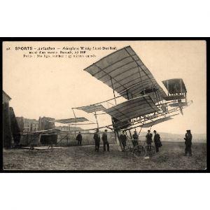 SPORTS - Aviation - Aéroplane Witzig-Lioré-Dutilleul, muni d'un moteur Renault , 55 HP