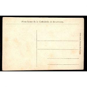 STRASBOURG - Plate Forme de la Cathédrale