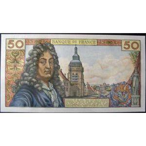 Billets français, Banque de France, 50 Francs Racine 3-6-1976