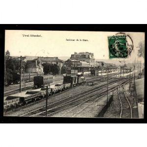 TOUL Illustré - Intérieur de la Gare
