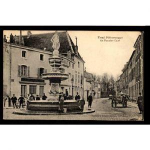 TOUL - La Fontaine Curel