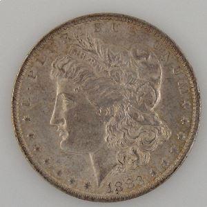U.S.A, Etats-Unis d'Amérique, Dollar 1883 O, TTB+/SUP, KM #110