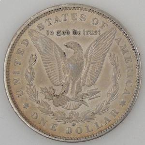 U.S.A, Etats-Unis d'Amérique, Dollar 1887 O, TTB+/SUP, KM #110