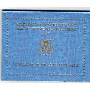 Vatican, 2 euro 2012, 7ème rencontre mondiale de la famille