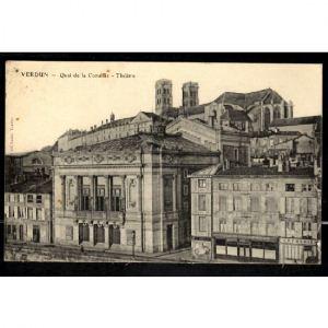 VERDUN - Quai de la Comédie - Théâtre