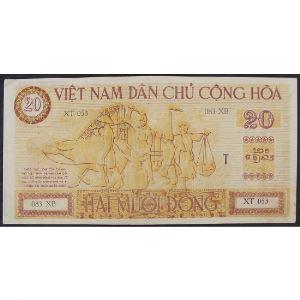 Viet-Nam, 20 Dong ND (1946), XF